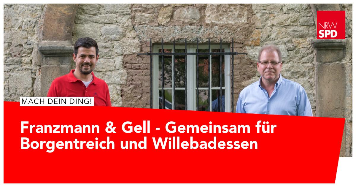 Marcel Franzmann und Guido Gell uns für unsere beiden Städte