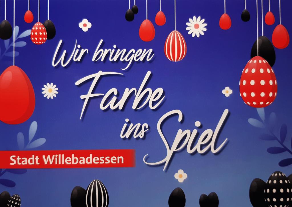 Der SPD-Stadtverband Willebadessen wünscht Ihnen ein frohes und gesegnetes Osterfest.