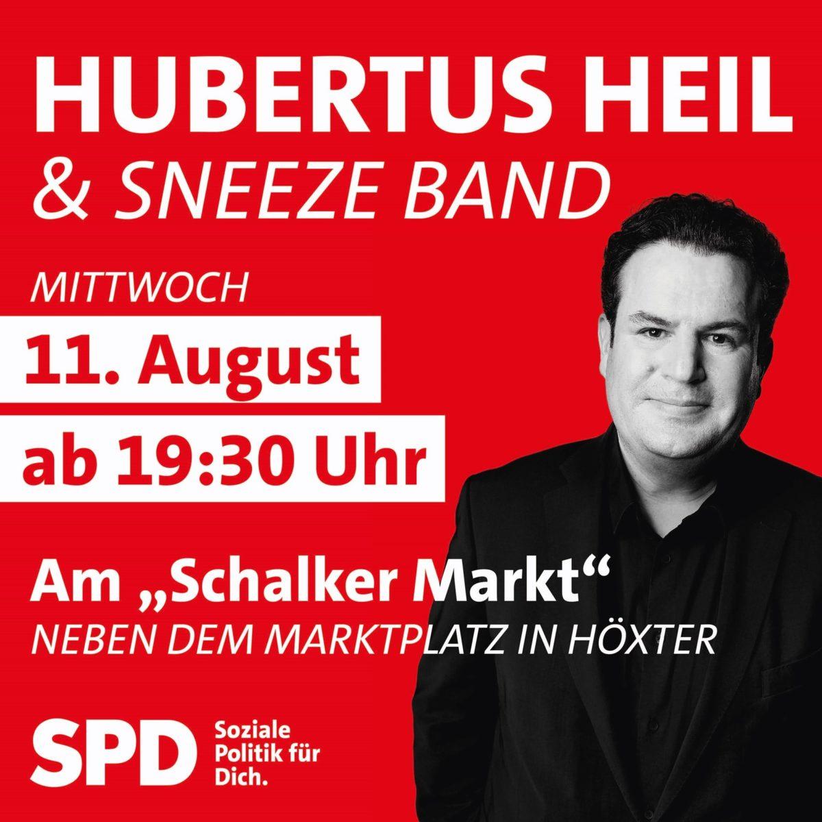 Hubertus Heil kommt nach Höxter