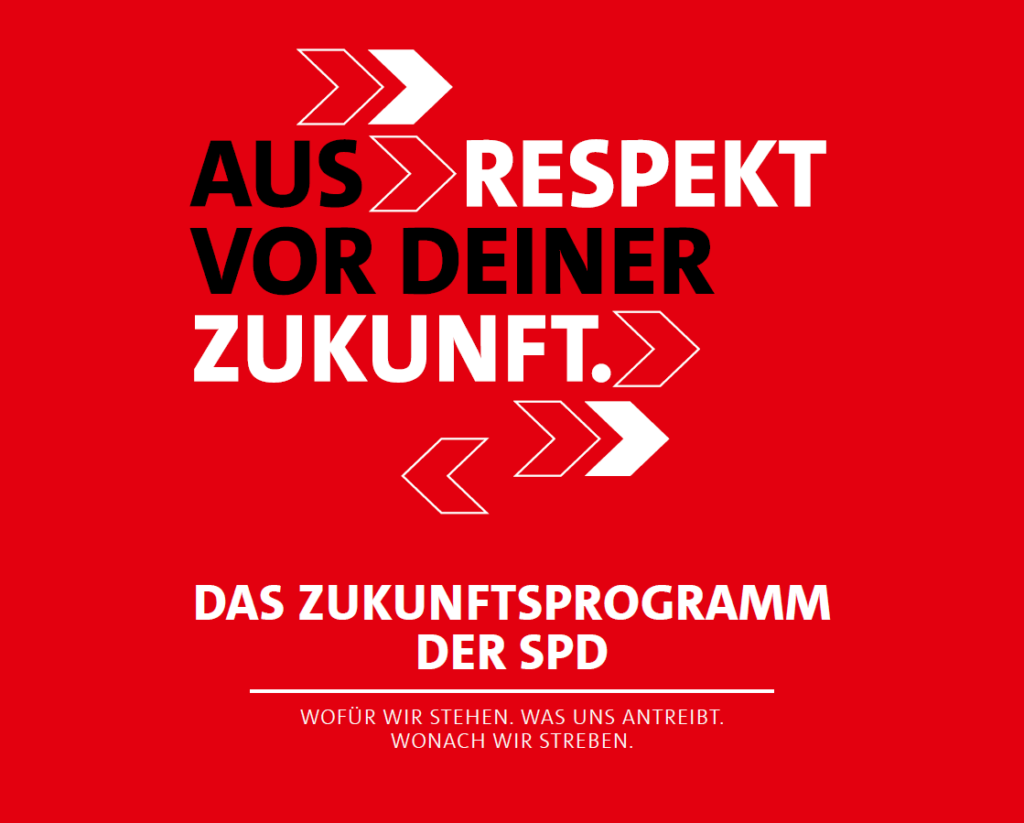 SPD-Zukunftsprogramm
