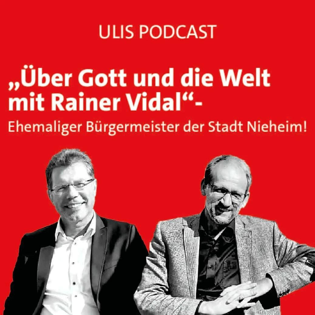 Über Gott und die Welt mit Rainer Vidal - ehemaliger Bürgermeister der Stadt Nieheim